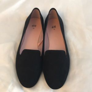 H&M suede loafers NWOT